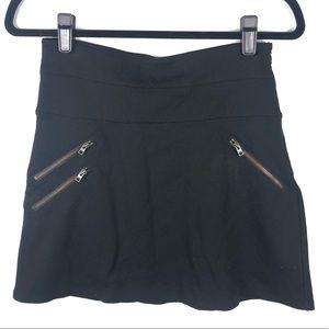 Athleta zipper design skirt H7